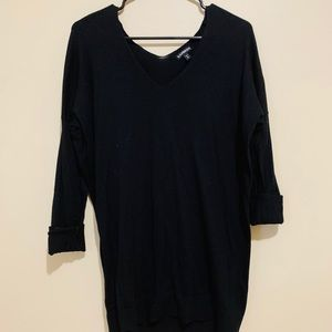 express Black Long Sleeve Sweater